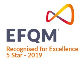 EFQM Recognised for excellence 4 star -2015